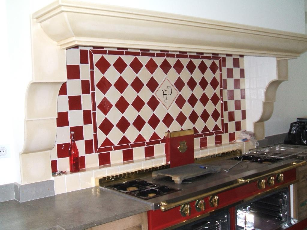 Carrelage mural cuisine 10x10 castorama carrelage for Decoration cuisine carrelage mural