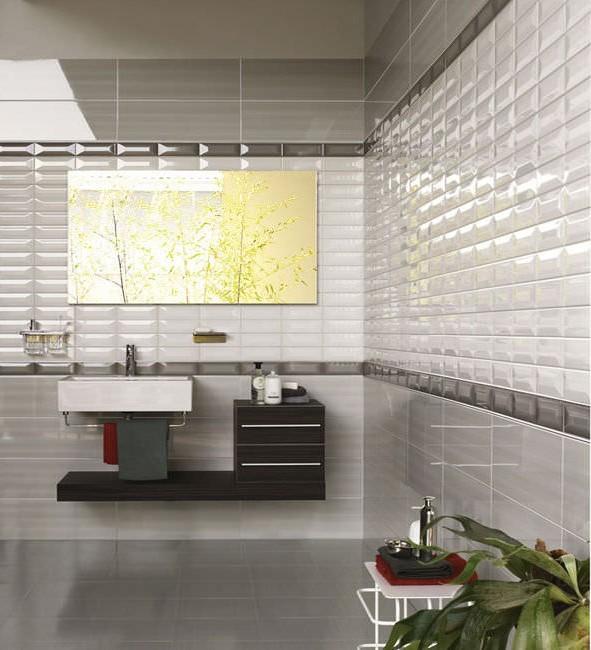 carrelage mural de salle de bain castorama carrelage