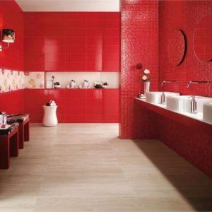Carrelage mural pour cuisine rouge carrelage id es de - Carrelage mural rouge pour cuisine ...