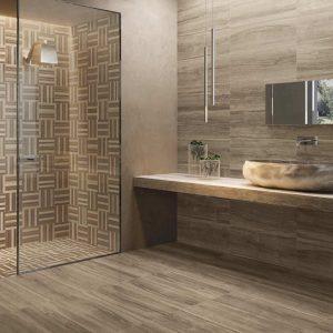 D coration carrelage mural salle de bain carrelage - Idee carrelage salle de bain ...