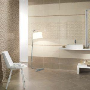 Carrelage salle de bain sol petit carreaux carrelage for Carrelage sol petit carreaux