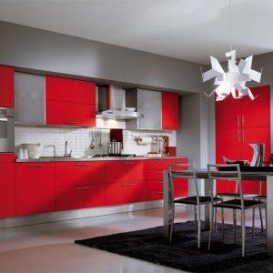 Carrelage pour cuisine rouge meilleures images d for Carrelage cuisine rouge