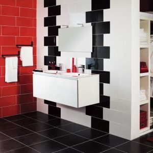 carrelage sol salle de bain rouge carrelage id es de d coration de maison qmlz1pbn4o. Black Bedroom Furniture Sets. Home Design Ideas