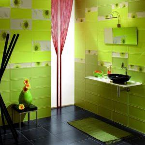Carrelage Salle De Bain Vert Anis - Carrelage : Idées de ...