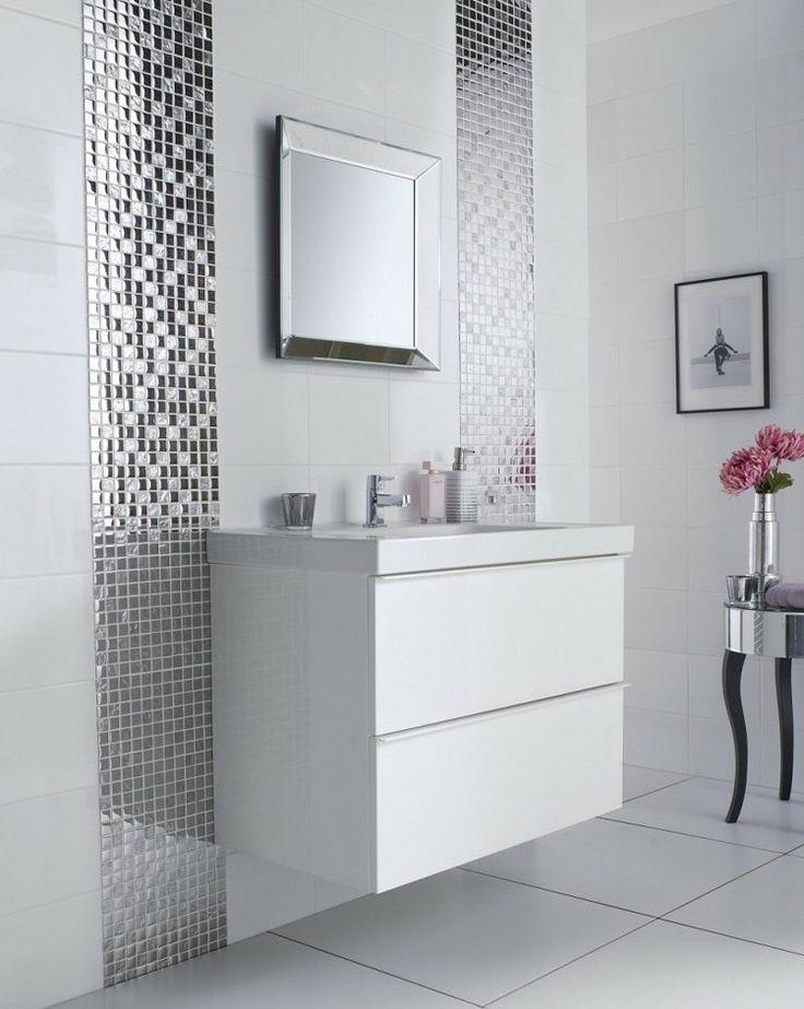 Carrelage Salle De Bain Mosaique Blanc