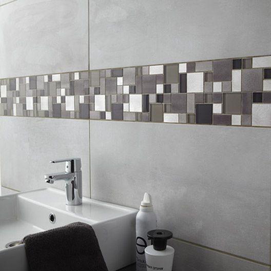 Carrelage Salle De Bain Mosaique Gris