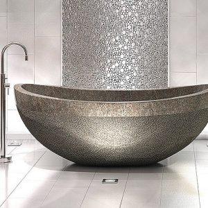Am nagement salle de bain 3m2 salle de bain id es de for Carrelage sol et mur salle de bain