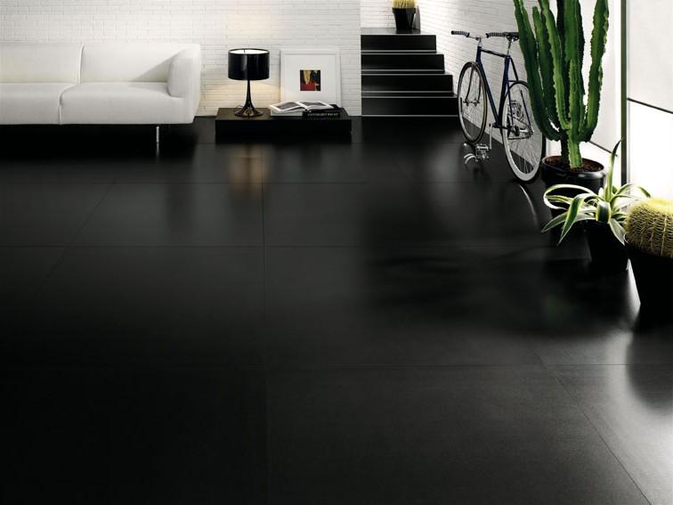 Carrelage Sol Et Mur Noir