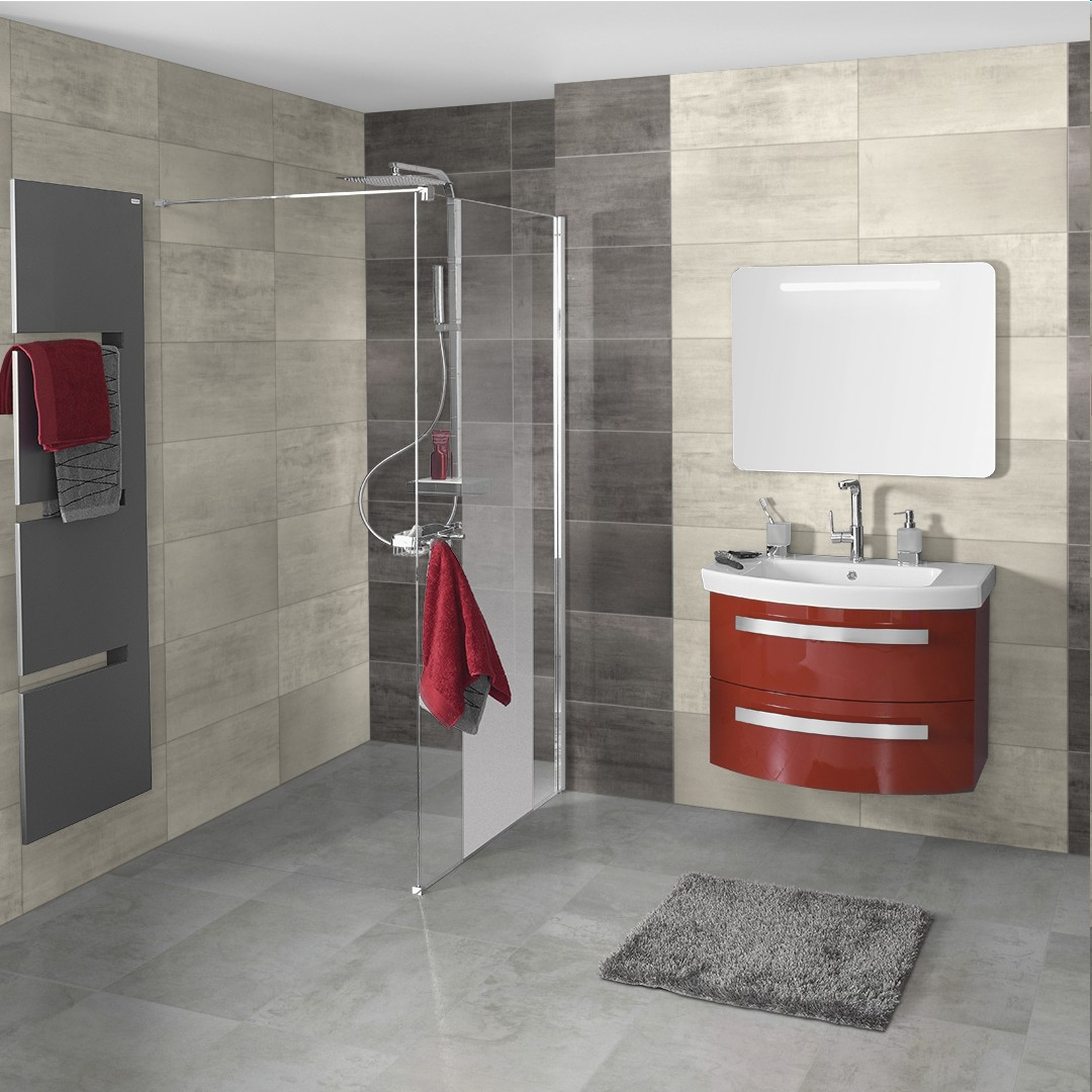 Catalogue point p carrelage salle de bain carrelage for Carrelage rouge salle de bain
