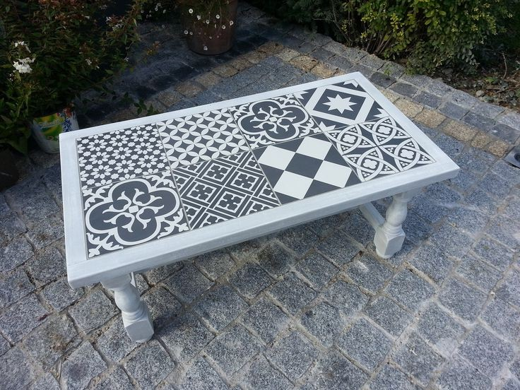 Faire Une Table En Carrelage