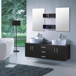 Meuble lavabo pour petite salle de bain salle de bain for Meuble lavabo salle de bain