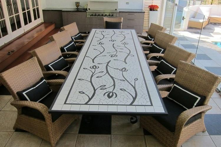 Table Carrelage Jardin