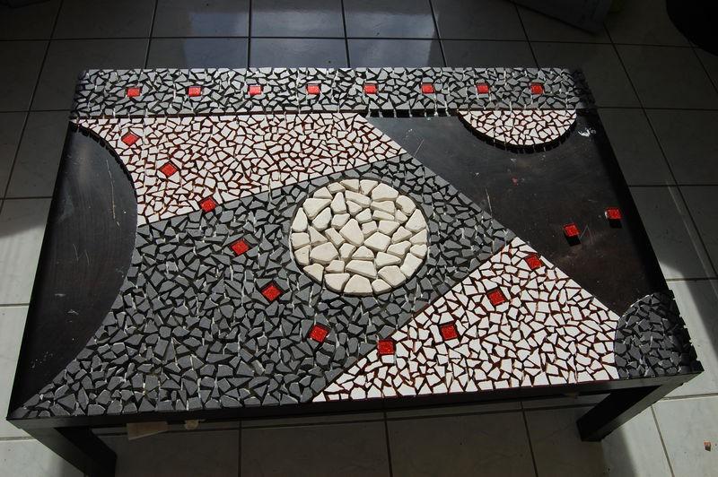Table En Carrelage Mosaique