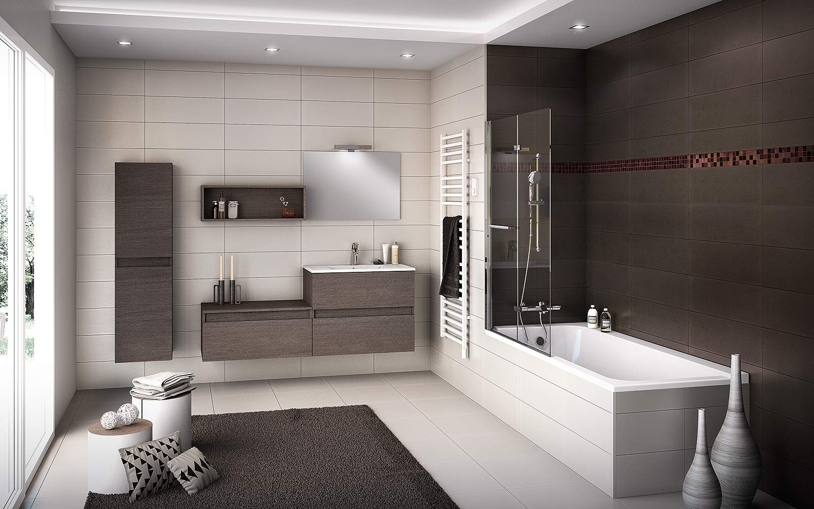 tendance carrelage salle de bain 2015 carrelage id es. Black Bedroom Furniture Sets. Home Design Ideas