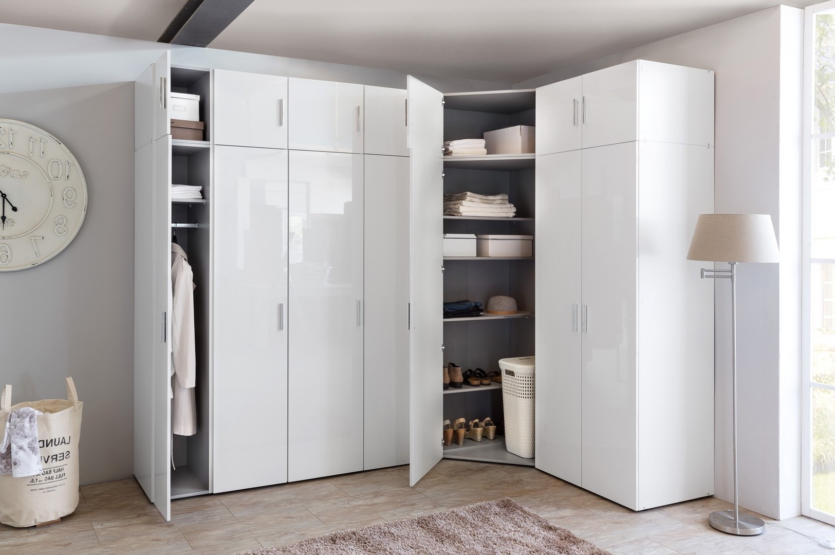 Armoire D'angle Chambre Adulte