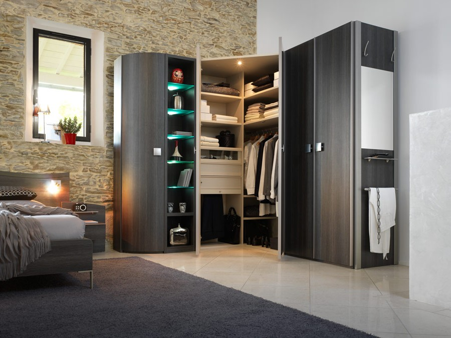 armoire d 39 angle chambre adulte chambre id es de. Black Bedroom Furniture Sets. Home Design Ideas