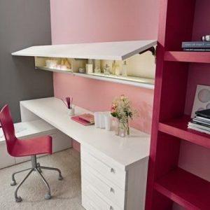 Meuble pour chambre adolescent chambre id es de d coration de maison lmb8by5l53 - Bureau chambre adolescent ...