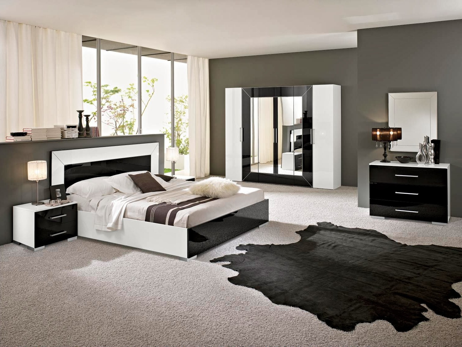 Chambre coucher adulte moderne vendre chambre id es for Chambre a coucher moderne