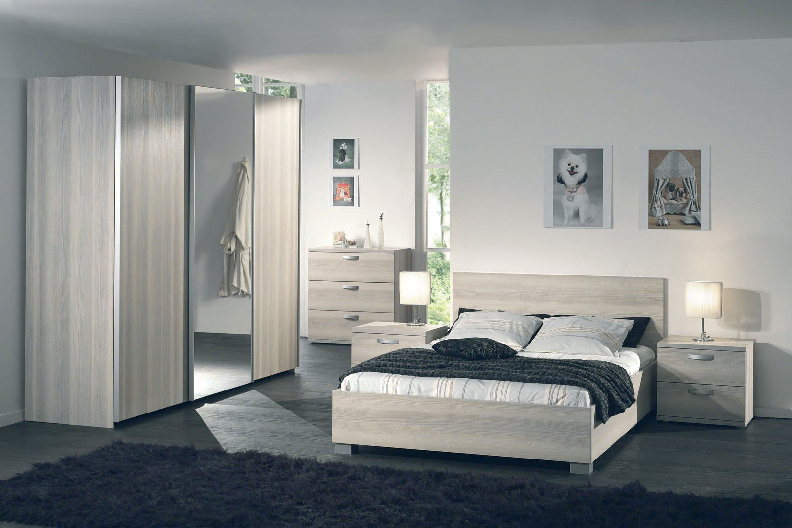 Chambre A Coucher Contemporaine Adulte