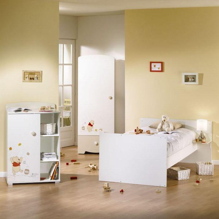 Chambre b b sauthon winnie l 39 ourson chambre id es de for Decoration de chambre winnie l ourson
