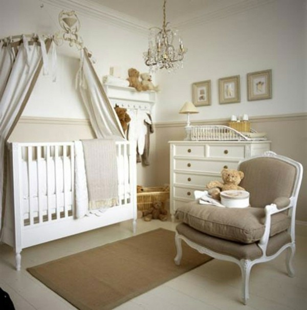 chambre bebe blanche et beige chambre id es de. Black Bedroom Furniture Sets. Home Design Ideas