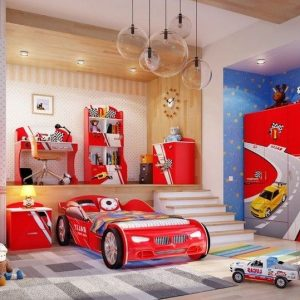 Chambre Garcon Lit Voiture - Chambre : Idées de Décoration de Maison ...