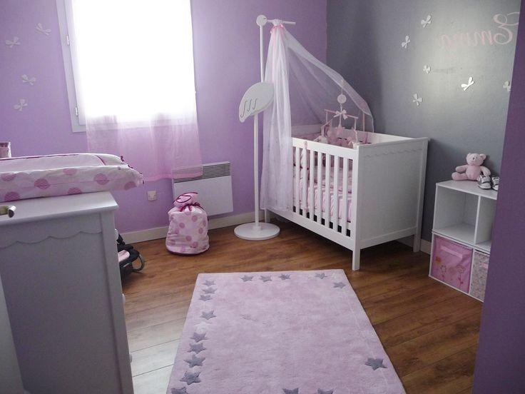 Décoration Chambre Bébé Fille Mauve
