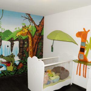 Déco Chambre Bébé Animaux De La Jungle - Chambre : Idées de ...