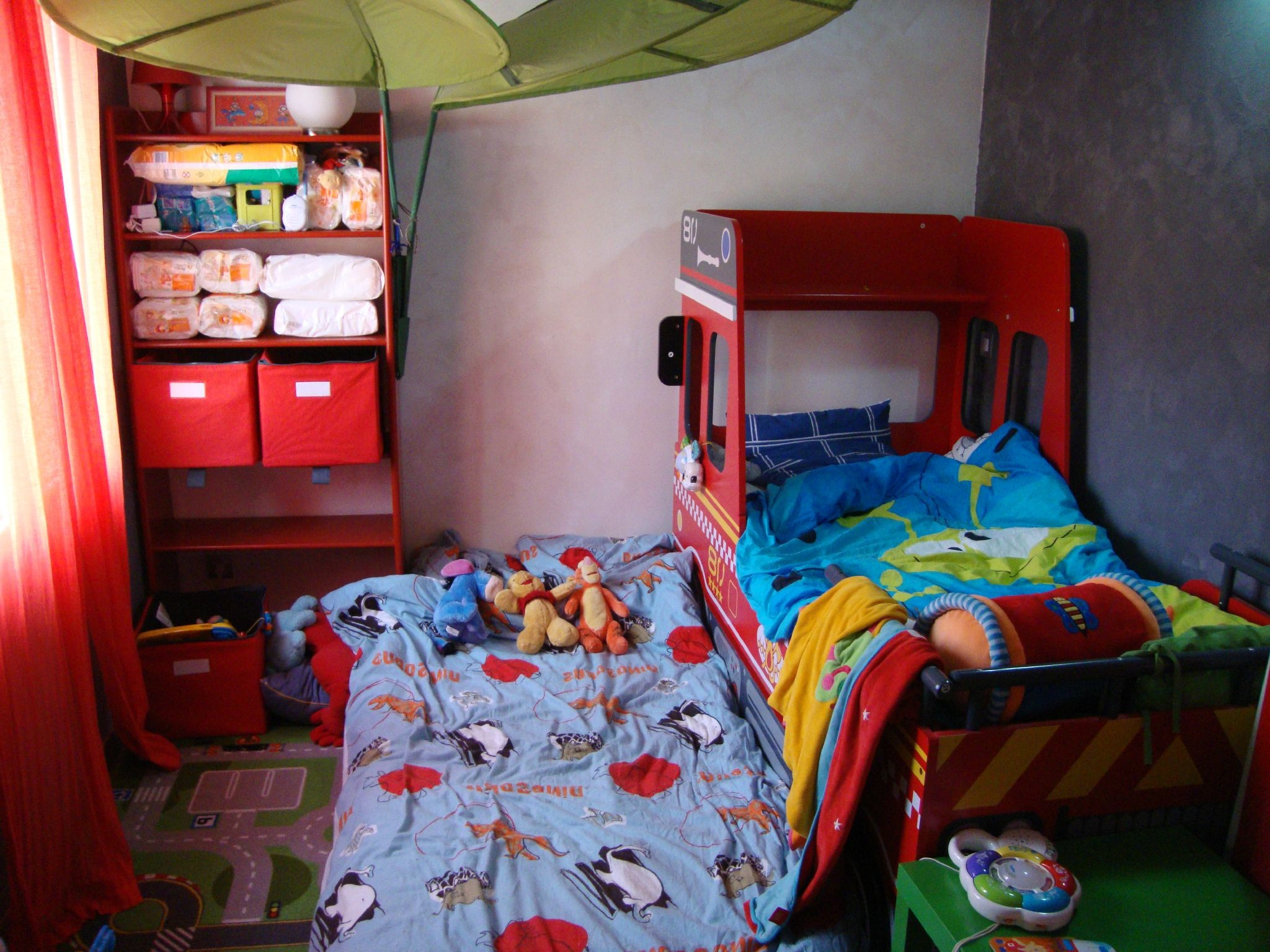 Décoration Chambre Sam Le Pompier