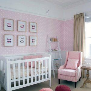 Deco Chambre Bebe Fille Papillon