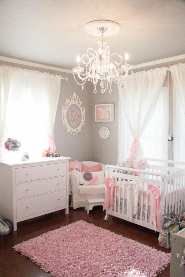 Deco Chambre Bebe Fille Rose