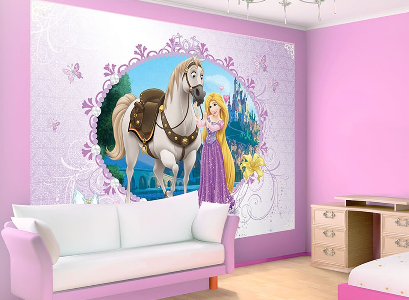 Amazing Deco Chambre Fille Princesse Disney With Deco Chambre Bebe Disney