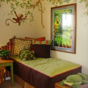 deco chambre jungle ou savane chambre id es de. Black Bedroom Furniture Sets. Home Design Ideas