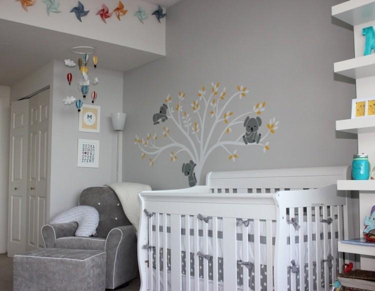 Deco Murale Chambre Bebe Garcon  Chambre  Ides De Dcoration De
