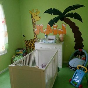 Deco chambre bebe theme jungle chambre id es de - Deco chambre bebe jungle ...