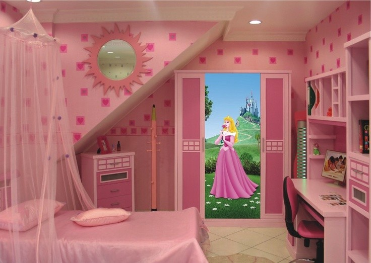 Decoration Chambre Princesse Disney