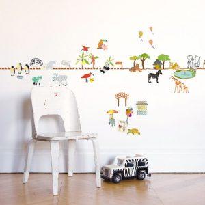 frise murale chambre b b fille chambre id es de. Black Bedroom Furniture Sets. Home Design Ideas