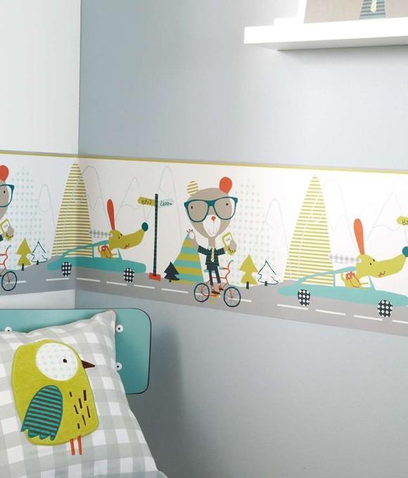 Frise Papier Peint Chambre Bébé Fille