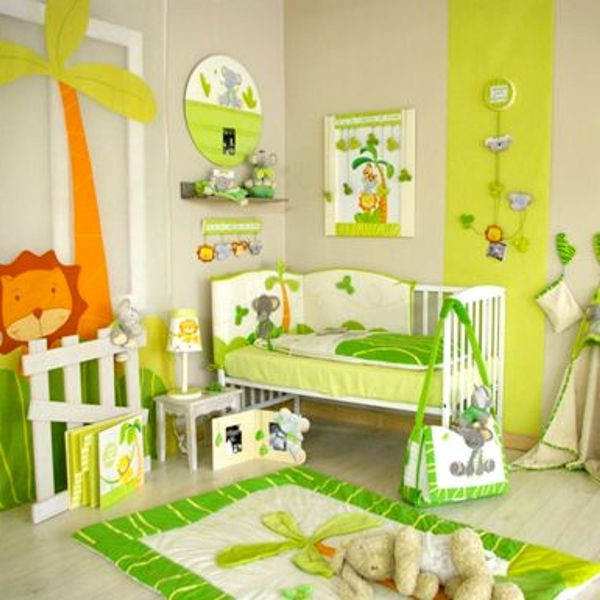 Id e d co chambre b b jungle chambre id es de - Deco chambre bebe jungle ...