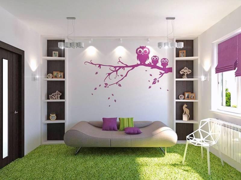 Papier Peint Pour Chambre Fille - Chambre : Idées De Décoration De
