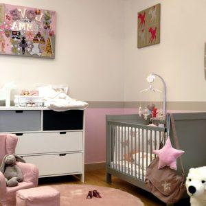 exemple peinture chambre b b fille chambre id es de d coration de maison pklq6gddra. Black Bedroom Furniture Sets. Home Design Ideas