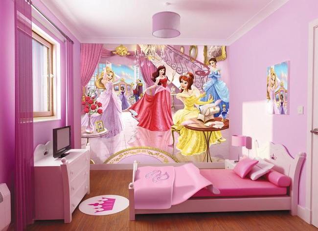 Idee Deco Chambre Fille Princesse Disney
