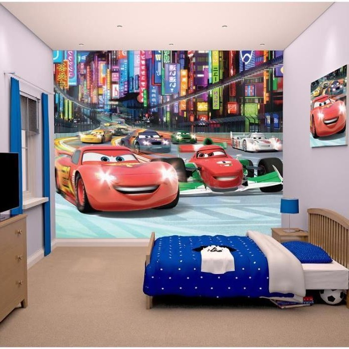 Idee deco chambre garcon cars chambre id es de for Decoration maison automobile
