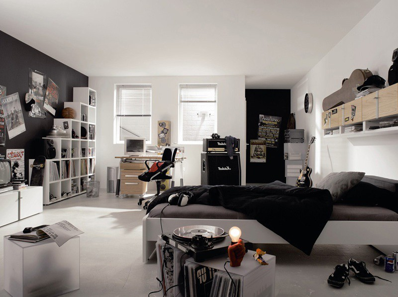 Ikea chambre ado garcon chambre id es de d coration de - Idee chambre ado ikea ...