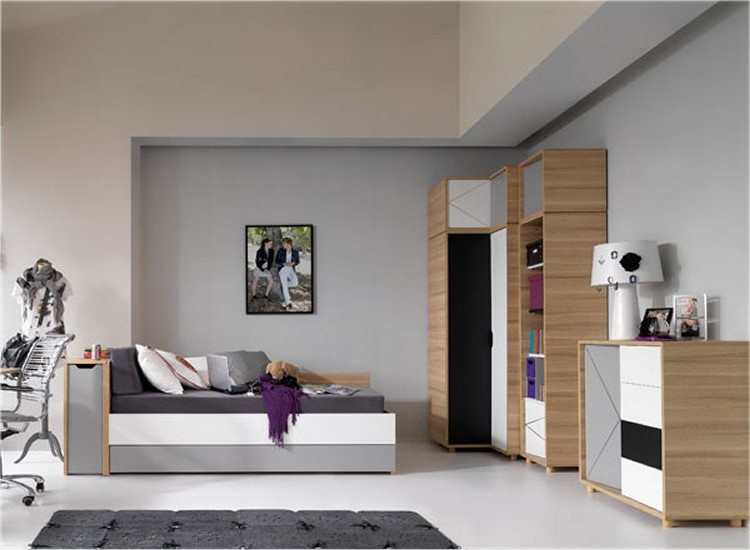 meuble pour chambre ado d coration de maison contemporaine. Black Bedroom Furniture Sets. Home Design Ideas