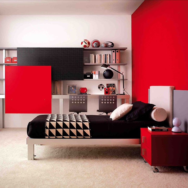 papier peint pour chambre ado gar on chambre id es de. Black Bedroom Furniture Sets. Home Design Ideas