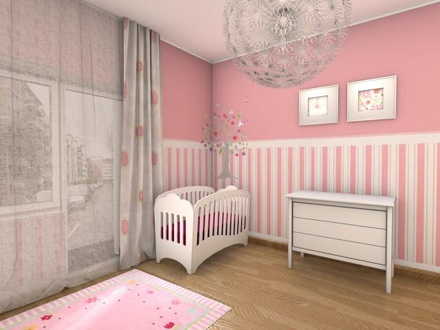 Papier Peint Pour Chambre De Bébé Fille