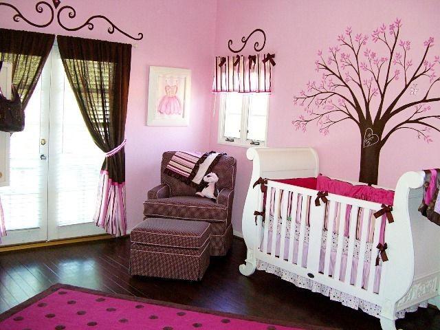 Peinture Chambre Bébé Fille Rose Et Gris
