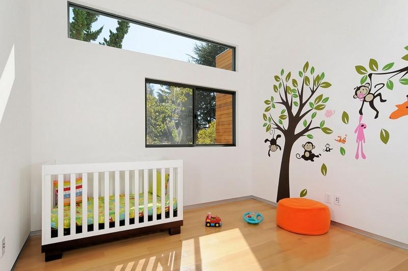 Peinture murale chambre b b fille chambre id es de for Decoration murale bebe fille