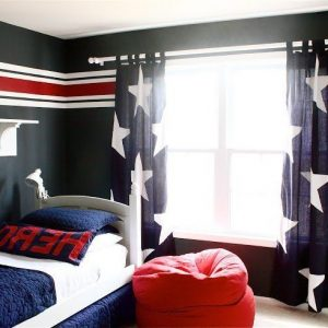 rideau chambre garcon ado conceptions de maison. Black Bedroom Furniture Sets. Home Design Ideas